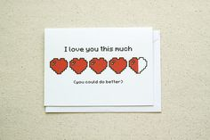This card for your sassy gamer bae: | 21 Flawlessly Romantic Gifts For Sarcastic People