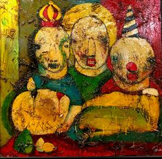 King David's Death by Michael Banks Michael Banks, King David, Painting On Wood, Folk Art, Art Gallery, Death, Drawings, Artist, Projects
