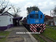 CRÓNICA FERROVIARIA: Línea Belgrano Sur: ¿Se estarían viviendo los últi...