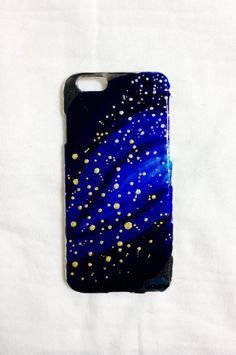 ●オーダーいただいて作成したiPhoneケースです。※こちらはiPhone6のケースでございます。●天の川の星々のきらめきをおたのしみください。|ハンドメイド、手作り、手仕事品の通販・販売・購入ならCreema。