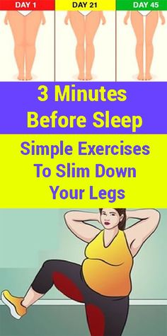 3 Minutes Before Sleep: Simple Exercises To Slim Down Your Legs, three Minutes Earlier than Sleep: Easy Workouts To Slim Down Your Legs Exercising the legs can even assist shed weight total. Take a look at these eas. Reto Fitness, Yoga Fitness, Fitness Tips, Health Fitness, Planet Fitness, Losing Weight Tips, How To Lose Weight Fast, Weight Loss, Kettlebell