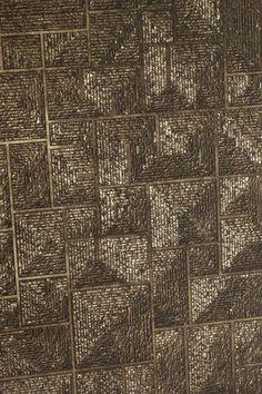Ateliers Bernard Pictet metal wall covering
