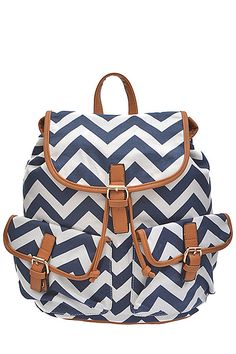 Chevron Backpack Purse | The Shopping Bag