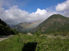 Rainbow in the Boí Valley