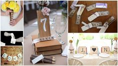 #Scrabble Style #Wedding Details | Irresistible Wedding Planning and Decor