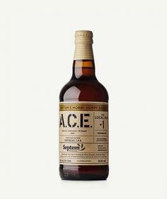 ΠΡΟΪΟΝ ΜΠΥΡΑ SEPTEM ACE No 1 ΣΧΕΔΙΑΣΜΟΣ MILK ΥΛΙΚΟ ΕΤΙΚΕΤΑΣ ΧΑΡΤΙ KRAFT BROWN ΠΡΟΔΙΑΓΡΑΦΕΣ 4 PANTONE Pantone, Whiskey Bottle, Beverages