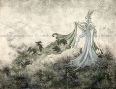 PRINTS - The Dark Woods Prints - Amy Brown Fairy Art - The Official Gallery
