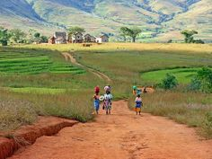 Africa, Madagascar...wanna get there too.