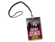 backstage vip pass template