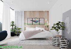 Colorful Bedroom Designs & Ideas Modern Bedroom Design, Master Bedroom Design, Bedroom Wall, Bedroom Decor, Modern Design, Bedroom Designs, Arty Bedroom, Light Bedroom, Bed Designs