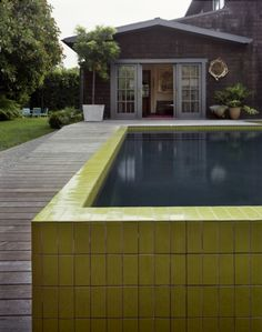 Amazing Lifted Pool Designed In Retro Style | DigsDigs | Pool Designs |  Pinterest | Pool Designs, Spaces And Beautiful Pools