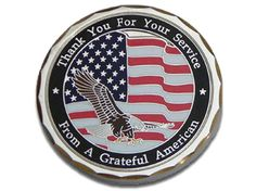The Grateful American coin