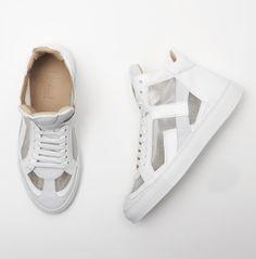 MM6 Maison Martin Margiela Sneakers in White