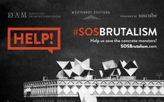 #SOSBrutalism is a growing database that currently contains over 900 Brutalist buildings. But, more importantly, it is a platform for a large campaign to save our beloved concrete monsters.