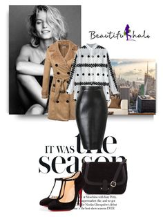 """""""http://www.beautifulhalo.com"""" by nahed-samer ❤ liked on Polyvore featuring Walls Need Love, Christian Louboutin, vintage, women's clothing, women's fashion, women, female, woman, misses and juniors"""
