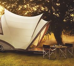 Opera: The most amazing pop-up camper ever.
