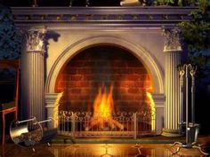 Round topped fireplaces