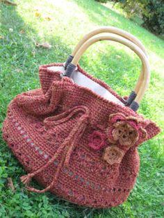 prada cross bag - Bolsos/ Bags Lana on Pinterest | Crochet Bags, Crochet Purses and ...