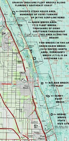 1715 fleet - Spanish treasure on any given beach within a 10 mile stretch of Sea Grape Trail in Vero Beach