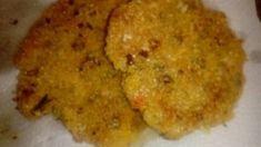 Croquetas de arroz yamaní, lentejas, zanahoria y choclo.SIN TACC