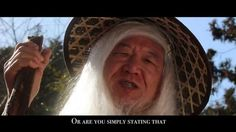 """For fans of """"The Hobbit"""" and """"Lord of the Rings."""" This is a video we made for the #HobbitChallenge! We live in Tokyo, Japan, so we recreated the scene as a Japanese Middle Earth, with a Japanese Gandalf and Japanese Bilbo Baggins! All filmed in Tokyo, Japan (as well as the countryside of Japan)! Please like and comment on YOUTUBE if you enjoy it! ^_^"""