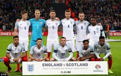 Southgate has defined his philosophy for England, he wants them to play from the back Gary Cahill, John Stones, Gareth Southgate, Wayne Rooney, England Football, England And Scotland, Team Photos, Nostalgia, The Selection