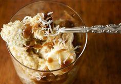 coconut quinoa porridge with banana and coconut