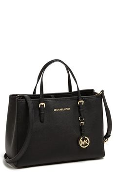 MICHAEL Michael Kors 'Jet Set – East/West' Saffiano Leather Tote | Nordstrom