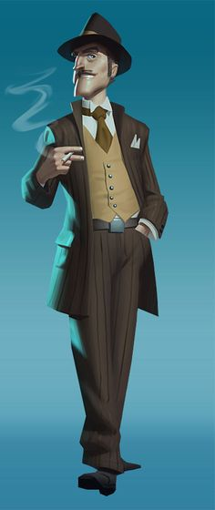 I like the striped pants and the vest, costume is nice Character Design Cartoon, Man Character, Character Sketches, Character Design Animation, Character Modeling, Character Creation, Character Design References, Character Drawing, Character Design Inspiration