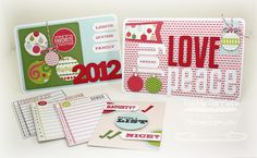 I created a set of cards for my Project Life album to use for a Christmas layout about me.  More information on [url=http://scrapmyheartout.blogspot.com/2012/10/document-itmft-teasers-day-2.html]my blog.[/url]  Thanks for looking!!  Stamps: Document It December, Journal It Top Ten (MFT) Papers:  Merry & Bright (Carta Bella), Sweet Tooth (MFT), Bazzill Inks:  Grass (Amuse), Tulip (CTMH), Memento tuxedo black, versafine onyx black (Tsukineko) Accessories:  Insert It 3 X 4 Die-namics, Accent…