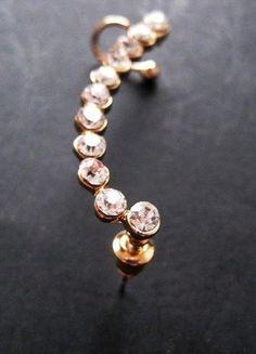 Kaufe meinen Artikel bei #Kleiderkreisel http://www.kleiderkreisel.de/accessoires/ohrringe/141904812-sehr-schone-ohrklemme-ohrstecker-ear-cuffs-ganzes-ohr
