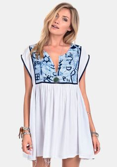 Cool Water Ikat Dress By Somedays Lovin at #threadsence @ThreadSence