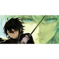 Seraph of the End ❤ liked on Polyvore featuring ons