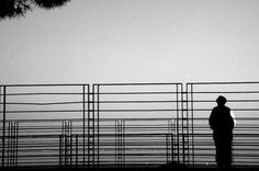 This is a picture that symbolizes loneliness,in the story loneliness is one of the themes.