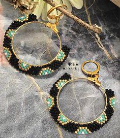 beaded earrings to make Seed Bead Jewelry, Seed Bead Earrings, Old Jewelry, Diy Earrings, Bridal Earrings, Beaded Jewelry, Hoop Earrings, Beaded Earrings Native, Beaded Earrings Patterns