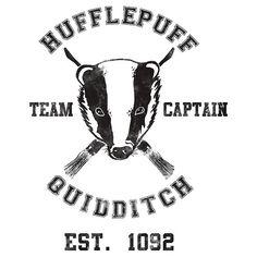 Hufflepuff Quidditch. ¿Decoración para las paredes?