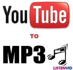 ListenVid is a free online video to MP3 conversion tool which allows you to convert and download Youtube, Dailymotion, Vimeo, Metacafe, Vk and Facebook videos to mp3, mp4, 3gp, webm, or f4v format.