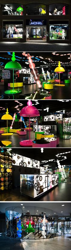 MONKI STORE DESIGN BY ELECTRIC DREAMS.
