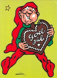 Danish Christmas, Christmas Home, Christmas Crafts, Christmas Ornaments, International Craft, Gnomes, Thank You Cards, Decoupage, Business