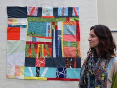 QUILTCON ~ Improv Round Robin 20 by daintytime, via Flickr