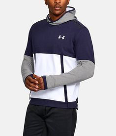 , White, zoomed image Fleece Hoodie, Under Armour, Hoodies, Christmas, Jackets, Men, Shopping, Image, Fashion