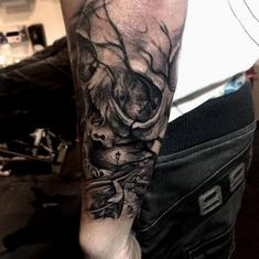Skull Tattoos by Luke Sayer