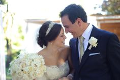 Ivory and cream bouquet  Photo by Jamie K Photography