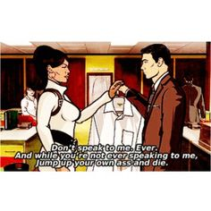 This is why Lana and Archer were made for each other.