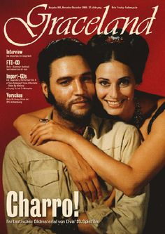 ♡♥Elvis with co star Ina Balin in his 'Charro' movie in 1969♥♡