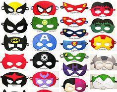 5 sentido superheroe máscaras del partido pack  venta por