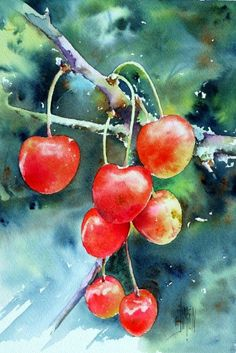 40 Mind Blowing Watercolor Paintings | http://art.ekstrax.com/2015/10/mind-blowing-watercolor-paintings.html
