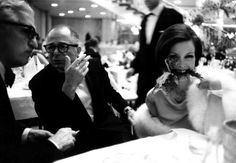 Billy Wilder and his wife Audry, Berlin 1961 by Robert Lebeck on Curiator - http://crtr.co/kg4.p