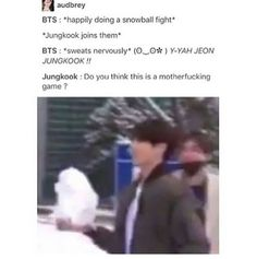 Give me one reason why we shouldn't be scared of jungkook
