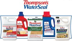 Thompson's WaterSeal Printable Rebate Forms!